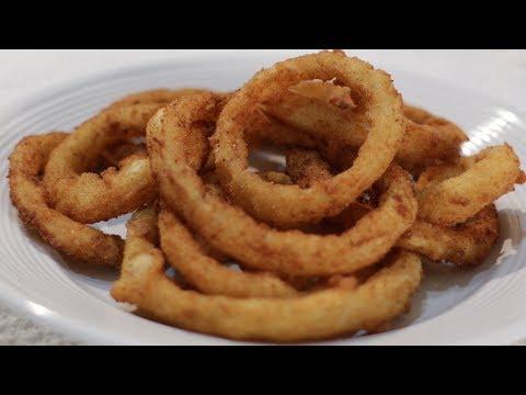 How to make Crispy Onion Rings | Easy Crispy Onion Rings Recipe