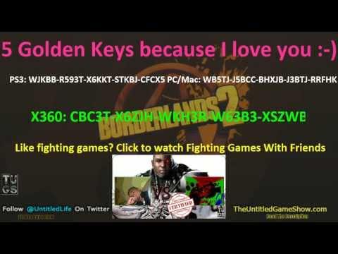 5 NEW Golden Keys May 19th SHiFT Code for Borderlands 2