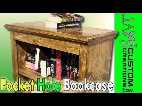 Pocket Hole Bookcase - 100