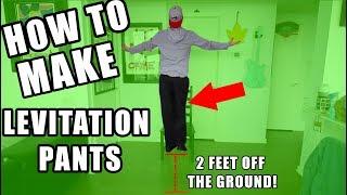 HOW TO MAKE LEVITATION PANTS!   EASY MAGIC!