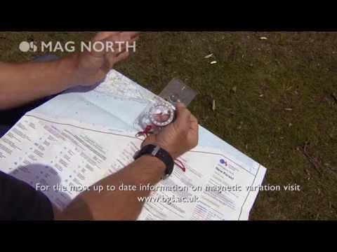 Understanding magnetic north with Steve Backshall and Ordnance Survey