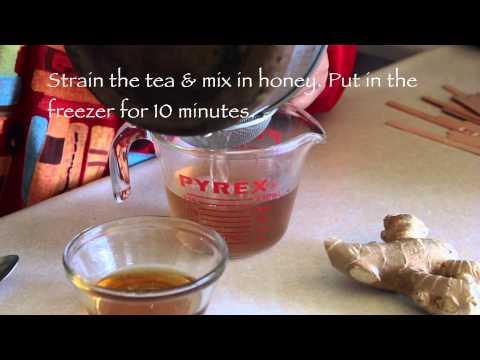 Pineapple-Ginger Popsicle Recipe