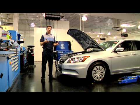 Honda Oil Change - The Factory Difference