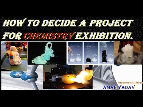 Amazing 15 best projects for science exhibition Chemistry from them you can win prize // Aman Yadav