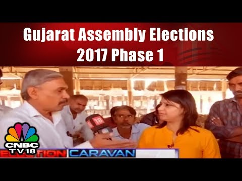 Gujarat Assembly Elections 2017 Phase 1 | 89 Seats In Saurashtra And S.Guj | CNBC TV18