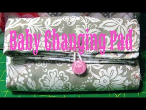 Quilted Baby Changing Pad ~ How To