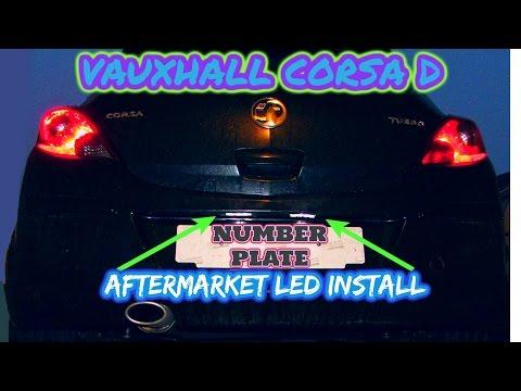 Vauxhall corsa d bulb change