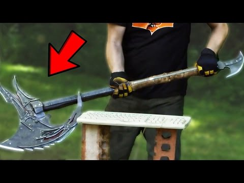 Top 10 UNBELIEVABLE Real Life Weapons From SKYRIM! (Skyrim Real Life Weapons)