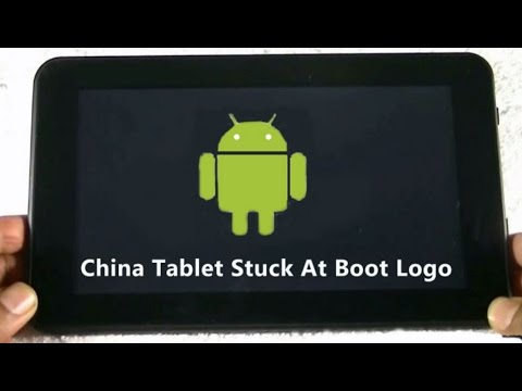 China Tablet Hang on Android Logo : Solution