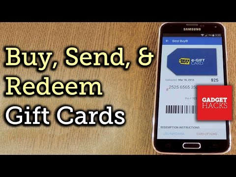 Upload, Buy, Send, & Receive Gift Cards on Android or iOS [How-To]