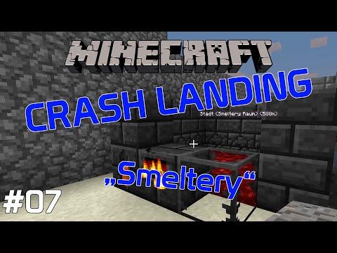 Minecraft Crash Landing #7 - Smeltery (Modded Minecraft)