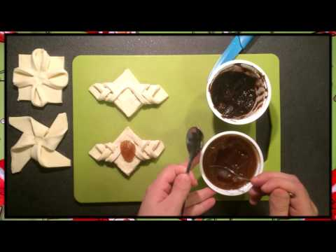 Folding of Christmas Pastries