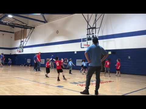 Snippet Of My 8 Year Old Grandsons Basketball Game... So Cute!!!