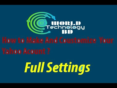 How To Creat Yahoo Mail Without Phone Number 2017-18 Bangla Tutorial