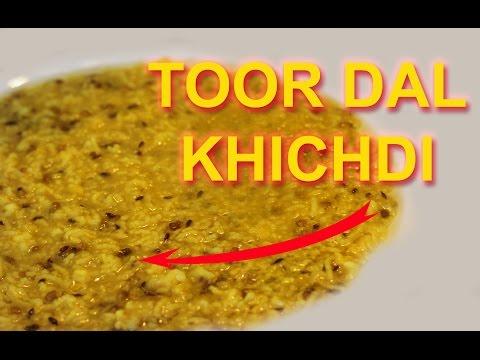 Toor Dal Khichdi / indian RICE dal