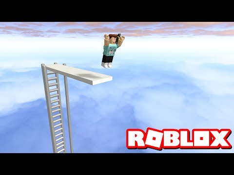 TALLEST DIVING BOARD IN ROBLOX