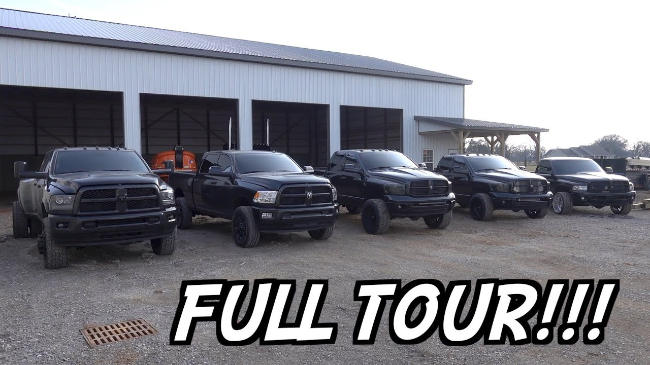 FULL TOUR OF MY TRUCK COLLECTION!!!