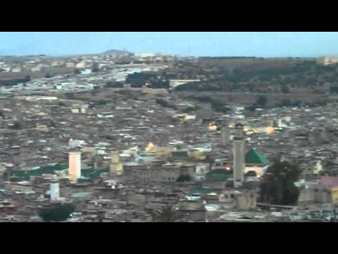 Call to Prayer over Fes, Morocco