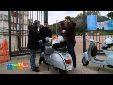 NapolinVespa Tour in onda sulla Rai a Campus Italia