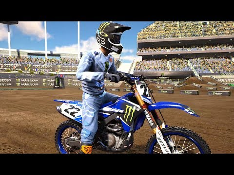 Supercross The Game | Chad Reed 4K 60FPS | PS4  / XBOX ONE X / PC / SWITCH