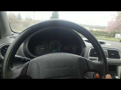 Subaru steering wheel shaking while driving at freeway speed
