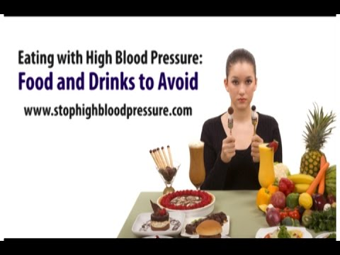 Eating with High Blood Pressure  Food and Drinks to Avoid
