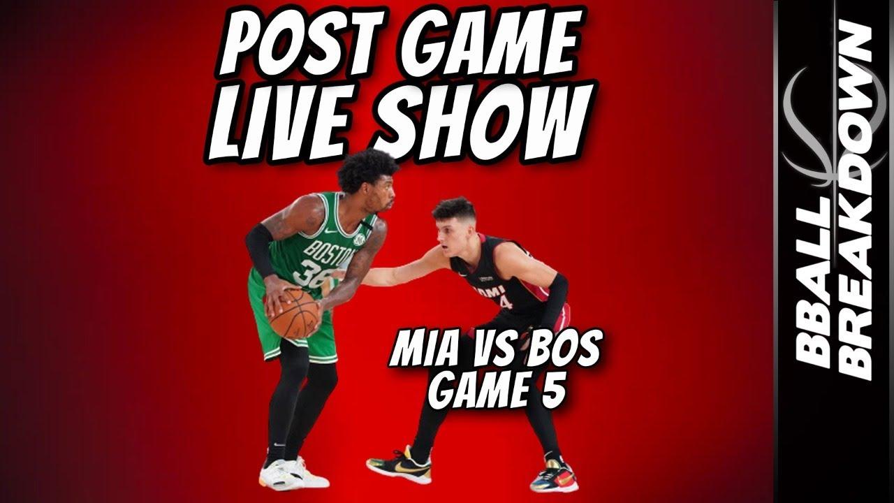 Heat vs Celtics Game 5 NBA ECF Post Game LIVE Show