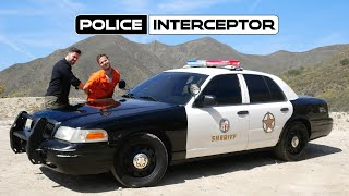 Ford Crown Victoria Police Interceptor Review // V8 Machine