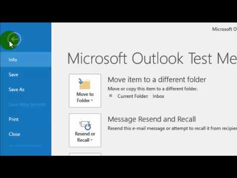 How to print email in Outlook