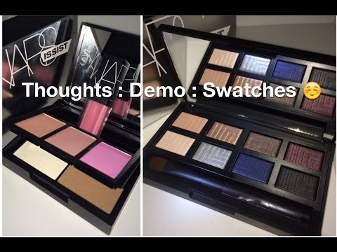 Review : Demo : Swatches : Nars Narsissist Dual Intensity : Blush, Contour, and Lip Palettes