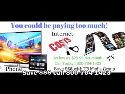 Low cost for cable, TV and Internet