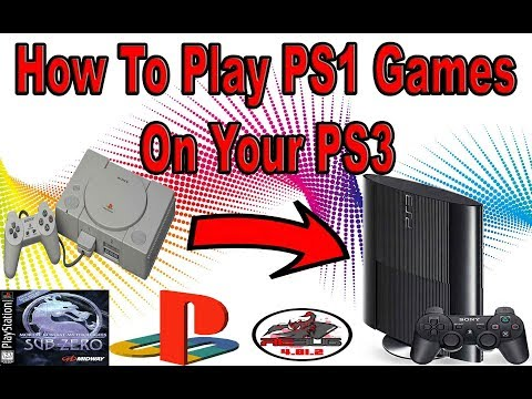 How To Play PS1 Games On Your Jailbroken PS3 ( Very Easy 2017)