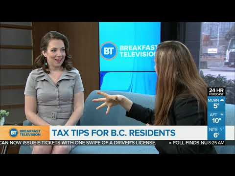 Tax Tips For B.C. Residents