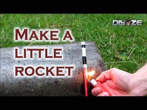 How to make mini rocket