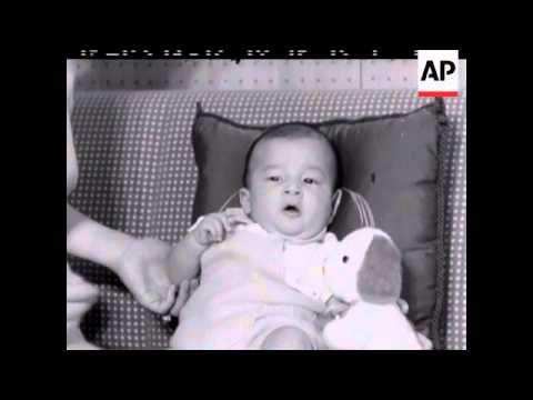 Royal Japanese Baby - No Sound - 1960