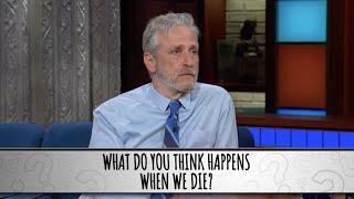 Part 2 - Jon Stewart Takes The Colbert Questionert