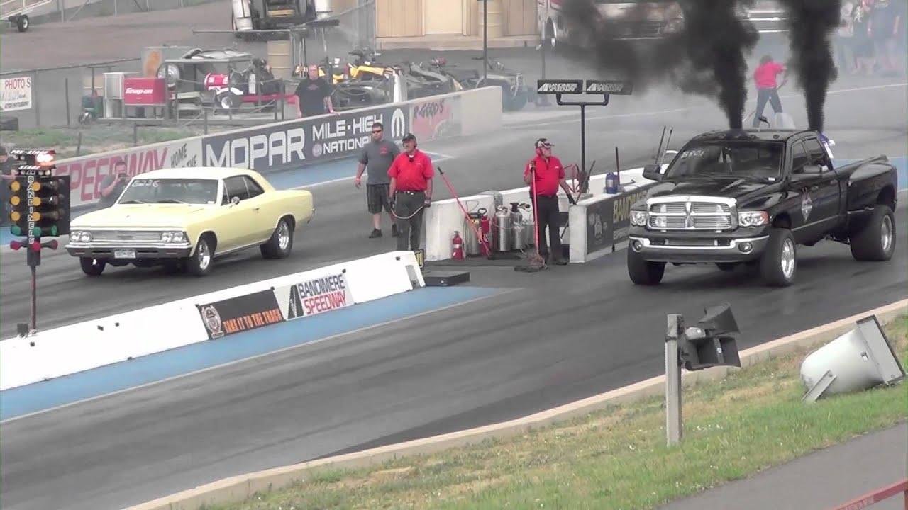 Dodge Ram Cummins Dually vs Chevelle