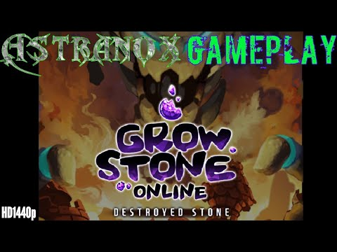 Grow Stone Online - Gameplay Part 1 - 2d MMORPG - Commentary Review HD 1440p [Android/iOS]