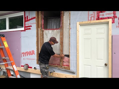 How To Reframe A Wall For A Larger Window