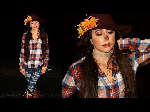 DIY Scarecrow Halloween Costume