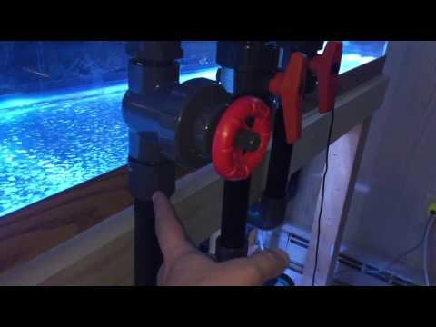 125 Gallon in wall Reef Tank Build / 65 Gallon Refugium Leak Test / Sump Room tour part 8