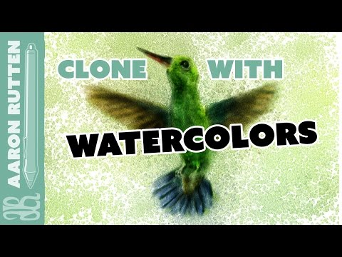 Can You Clone with Watercolor Brushes? - Corel Painter Tutorial