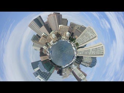 Photoshop Cs5 Tutorial: The Tiny Planet Photo Effect
