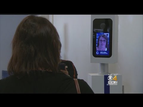 Facial Recognition Technology Trial At Logan Airport
