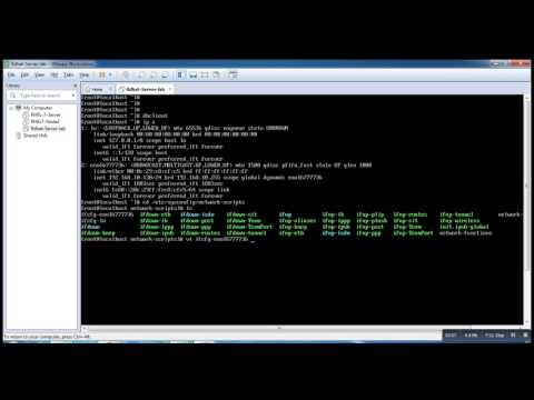 How to Set the IP Address in Redhat 7 || RHEL7 or Centos7 Step by Step