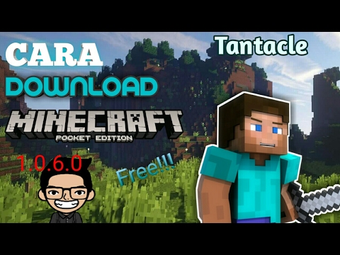 CARA DOWNLOAD MCPE V.1.0.6.0 build 1 Beta secara gratis