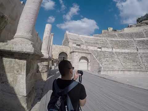 The Roman teather Amman