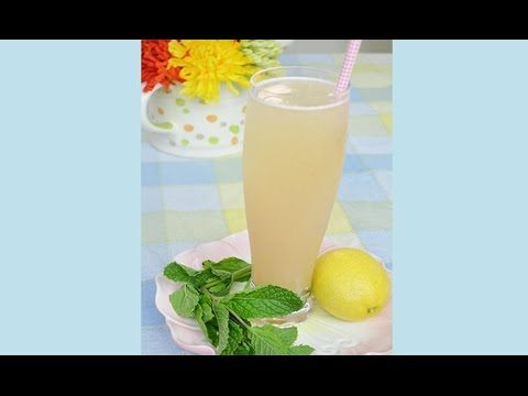 Cool Asian Pear Sparkler Summer Drink Recipe