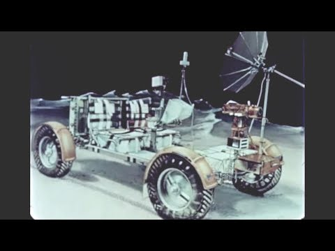 Classic Video: Spacecraft with Wheels - The Lunar Roving Vehicle