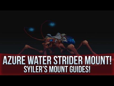 Azure Water Strider - WoW Mount Guide!